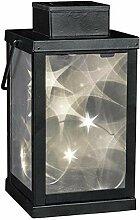 Magische Laterne, 3D, solarbetrieben, Glas,