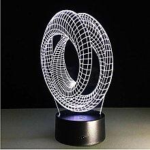 Magische Optische Stimmung 3D-Stimmung Lampe Usb