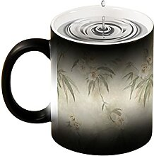 Magische Verfärbung Tasse, kreatives Design,