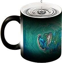 Magische Verfärbung Tasse, kreatives Design, NASA