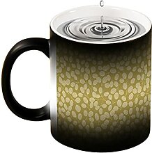 Magische Verfärbung Tasse Neuheit Design