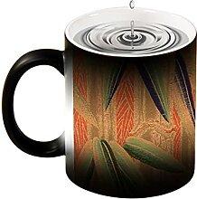 Magische Verfärbungstasse, kreatives Design,
