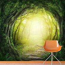 Magischer Wald Wandbild Fantasie Natur Foto-Tapete Kinder Schlafzimmer Haus Dekor Erhältlich in 8 Größen Extraklein Digital