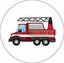 MAGJUCHE Feuerwehr-Aufkleber, Feuerwehrwagen,