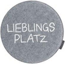Magma Stuhlkissen Avaro in grau: Lieblingsplatz,