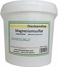 Magnesiumsulfat 2,5kg - Bittersalz - Epsom Salz -