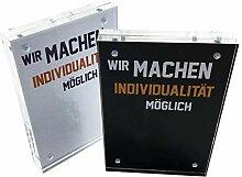 Magnet Bilderrahmen aus Acryl - Transparenter