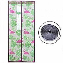 Magnet fliegengitter Flamingo, Mit Magic tape