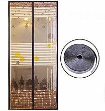 Magnet fliegengitter, Mit Magic tape Ultra seal
