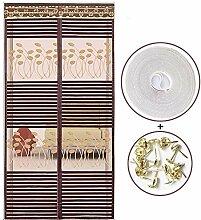 Magnet fliegengitter Streifen, Mit Magic tape