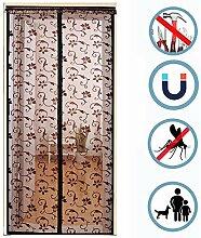 Magnet Fliegengitter Tür Für Haustiere,tür Der