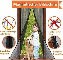 Magnet Fliegengitter Tür Insektenschutz, Fliegen