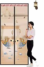 Magnet Fliegengitter Tür, Klettverschluss