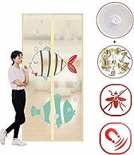 Magnet Fliegengitter Tür Mit Full Frame