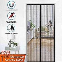 Magnet Insektenschutz Tür 135x220cm, Magnetischer
