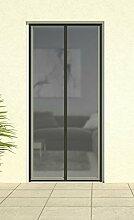 Magnet-Lamellenvorhang 'DELUXE', Magnetvorhang Türvorhang Fliegennetz Insektenschutz Vorhang 100 x 220 cm