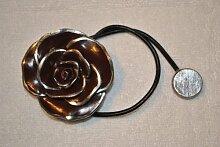 Magnet-Raffhalter, 67512072, Blume mit Relief,