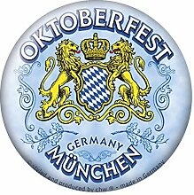 Magnetbutton - Oktoberfest München - Gr. ca. 5,7