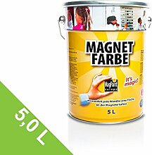 Magnetfarbe - magnetische Wandfarbe,