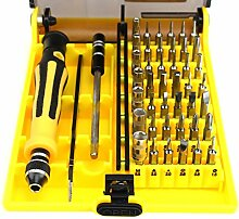 Magnetic 45 in 1 Precision Screwdriver Set Reparatur-Set für iPhone iPad PC