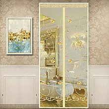 Magnetic Screen Door halten Insekten aus Moskito-Tür-Bildschirm, oben-unten-Dichtung automatisch, halten Sie sich von Moskitos Vorhang für Balkon Schiebetüren Wohnzimmer Kinderzimmer (90*210cm, B)