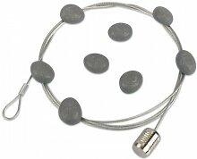 Magnetische Fotoleine/Fotoseil Stone, 8 Magneten,