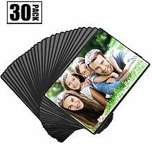 Magnetische Fototaschen, Magiclfy 30 Stück Magnet
