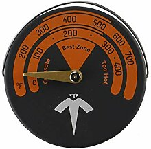 Magnetische Herd Thermometer Holzofen Rohr