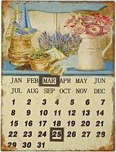 Magnetische Wandtafel für den Kalender Brambly