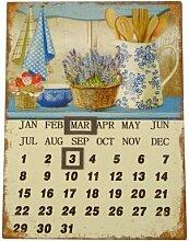 Magnetische Wandtafel für den Kalender