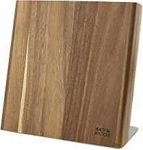 Magnetischer Messerblock aus Akazien Holz |