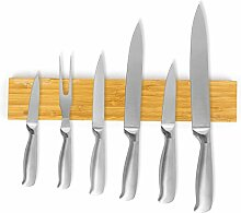 Magnetleiste Bambus 36 cm Küchenleiste Messerleiste Messerhalter LB3527
