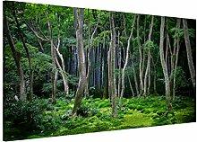Magnettafel Japanischer Wald Memoboard Design Quer