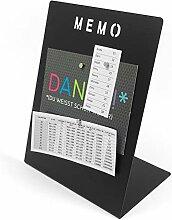Magnettafel Memoboard mit Marker beschreibbar -