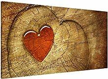 Magnettafel Natural Love Memoboard Design Quer