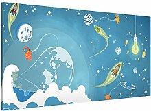 Magnettafel No.MW16 Buntes Weltraumtreiben