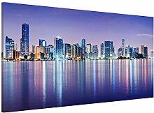 Magnettafel Purple Miami Beach Memoboard Design