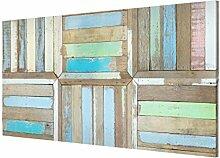 Magnettafel Rustic Timber Memoboard Quer Metall