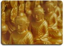 Magnettafeln - Magnettafel Golden Buddha