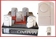 Magno Alarm System Einbruchschutz Türen Fenster 5er Se