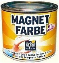 MagPaint MAGNETFARBE, überstreichbar, MAGNETISCHE WANDFARBE, 1 Dose (500 ml)