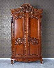 Mahagoni Schrank Schlafzimmerschrank Antik