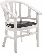 Mahagoni Stuhl Erwin-antik_weiß