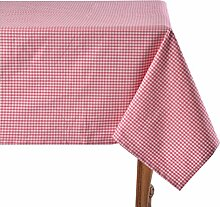 Mahagoni Tischdecke, pink