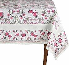 Mahagoni Tischdecke, quadratisch, Pink