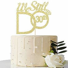 MaiCaiffe Gold We Still Do 30th Cake Topper –