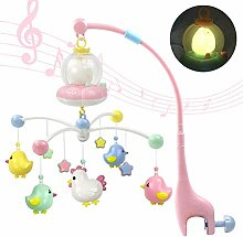 MAICOLA Baby-Musical Krippe Mobile mit