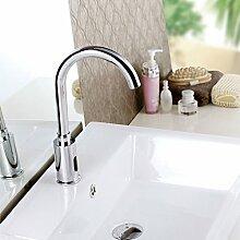 Maifeini  Automatische Sensor Waschbecken Armatur Für Bad Brasscold Wasser Schnell Öffnen Typ Induktive Tippen F-2033, Versand, Chrom