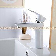 Maifeini Farbe Messing Badezimmer-Eitelkeit Pool Von Leitungswasser Küchenarmaturen Sanitär Es Gibt Drei Farben, Weiß