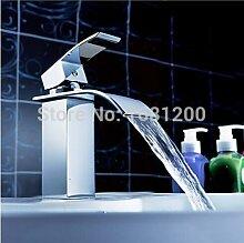 Maifeini Neuen Fallsview Wasserhahn Bad Armatur Waschbecken Mixer Modernes Badezimmer Produkte Verchromtes Messing Armaturen,Verchrom